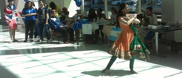 Indian Dancer performing