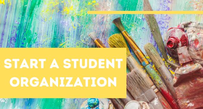 Start a New Student Organization